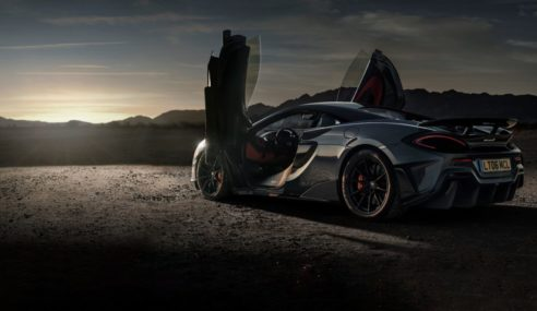 Experience Total Adrenaline Rush With The McLaren 600LT