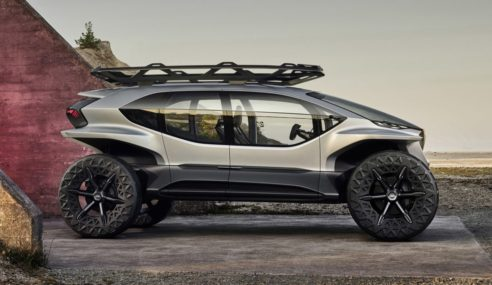 The Audi AI: Trail Concept Takes A New Route To Off-Roading