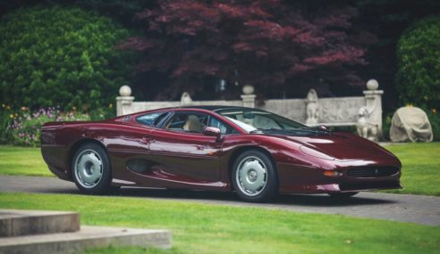The Sporty Jaguar XJ220 Made Twisted History